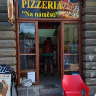 Exteriér - Pizzeria Na náměstí, Česká Kamenice