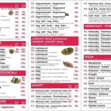 Nabídka - Antalya Kebab Děčín