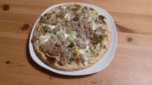Hotovo, můžeme jíst, aneb ještě jedna fotečka na fejsíček - Pizza Gyros