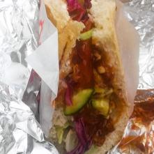 Špatná fotka docela dobrého kebabu 2 - Kebab u kulturáku, Ústí n. L.