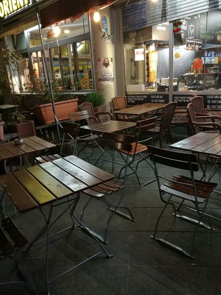 Předzahrádka - Kottiwood (Berlín)