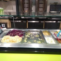 Omáčky a zelenina - Kebab Na Pankráci (Praha)