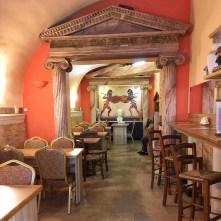 Interiér - Akropolis Kebab Krakov