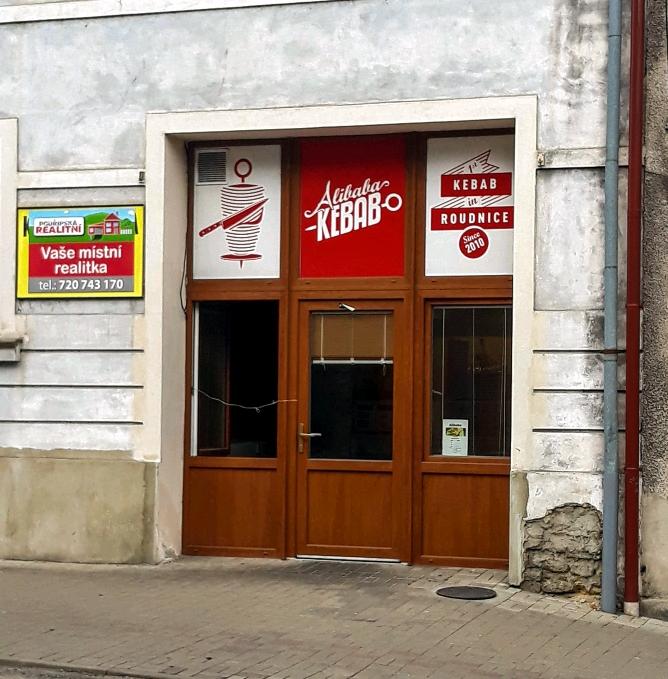 Exteriér - Alibaba Kebab, Roudnice nad Labem