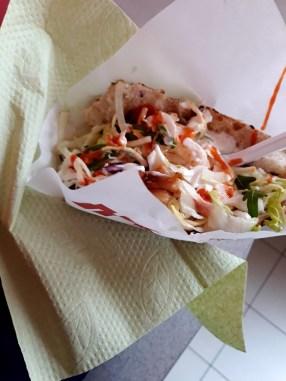 Ne, to není hajzlpapír, ale ubrousek - Alibaba Kebab, Roudnice nad Labem