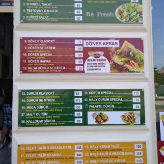 Menu - Kebab & Pizza Antalya (Rakovník)
