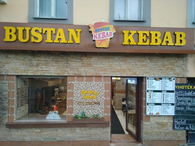 Exteriér- Bustan kebab, Praha