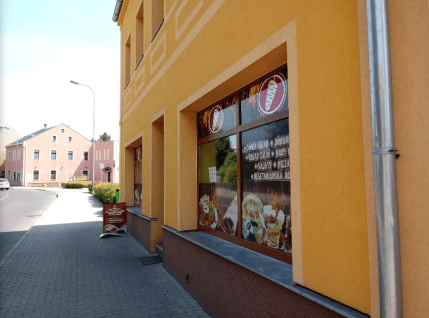 Exteriér - Kebab House, Ostrov