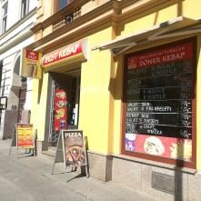 Exteriér - Best kebab, Brno