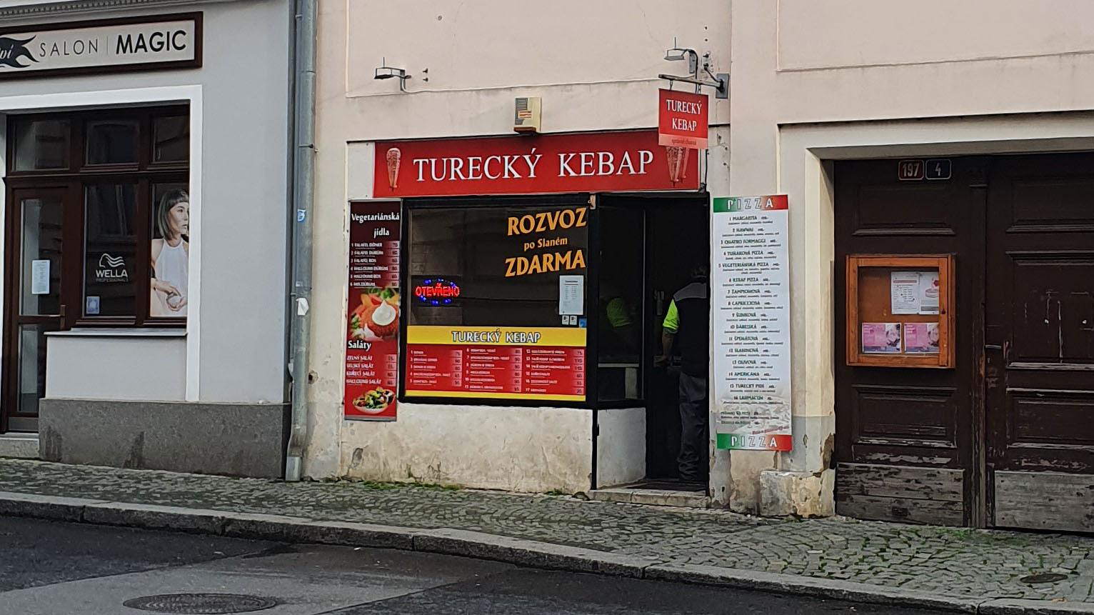 Turecký kebap, Slaný