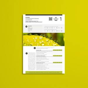 Kedron Customer Questionnaire A4 Template