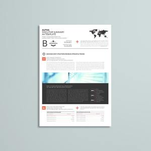 Alpha Executive Summary A4 Template