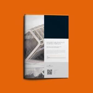 Architecture Portfolio A4 Bifold Template