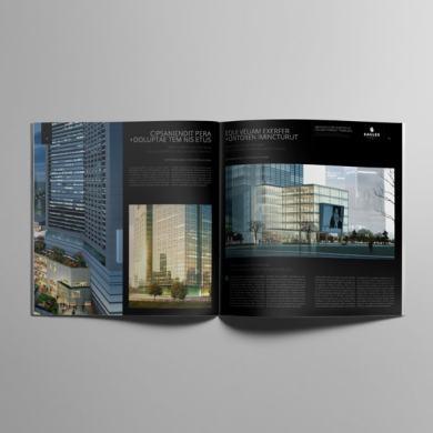 Architecture Portfolio Square Format Template – kfea 3-min