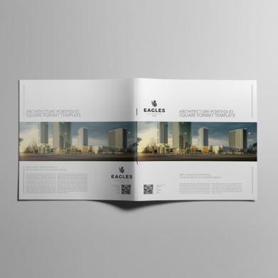 Architecture Portfolio Square Format Template – kfea 4-min