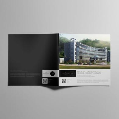Architecture Portfolio Square Format – kfea 3-min