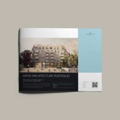Artio Architecture Portfolio US Letter Landscape