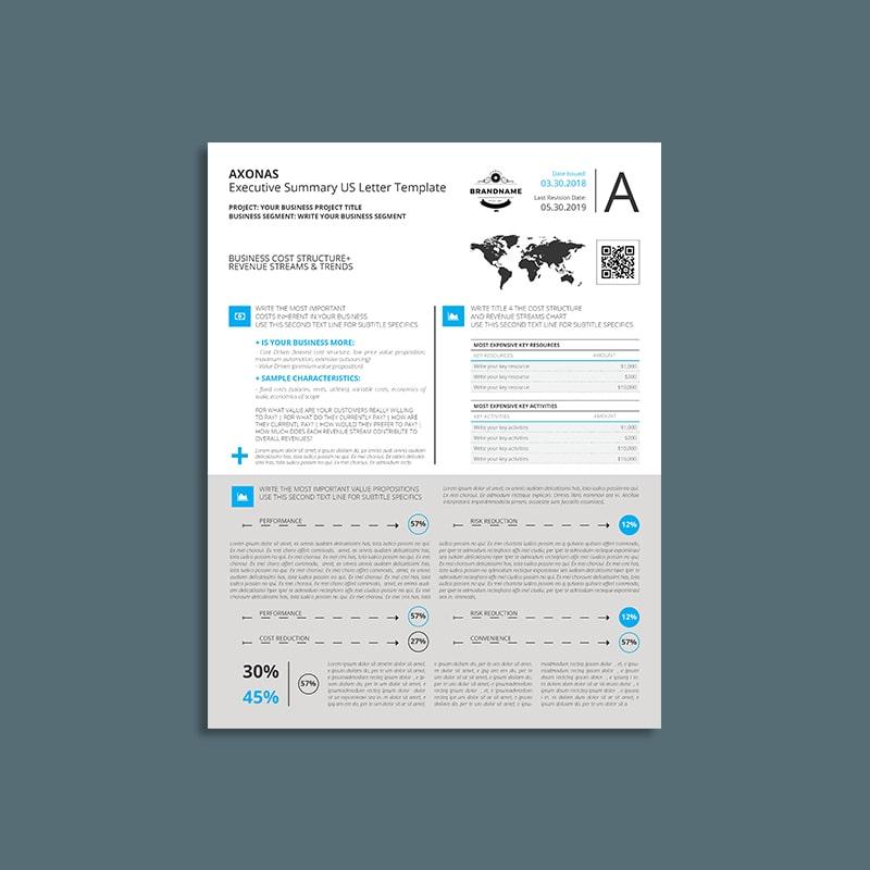 Axonas Executive Summary US Letter Templat