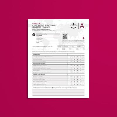 Basikon Customer Questionnaire US Letter Template