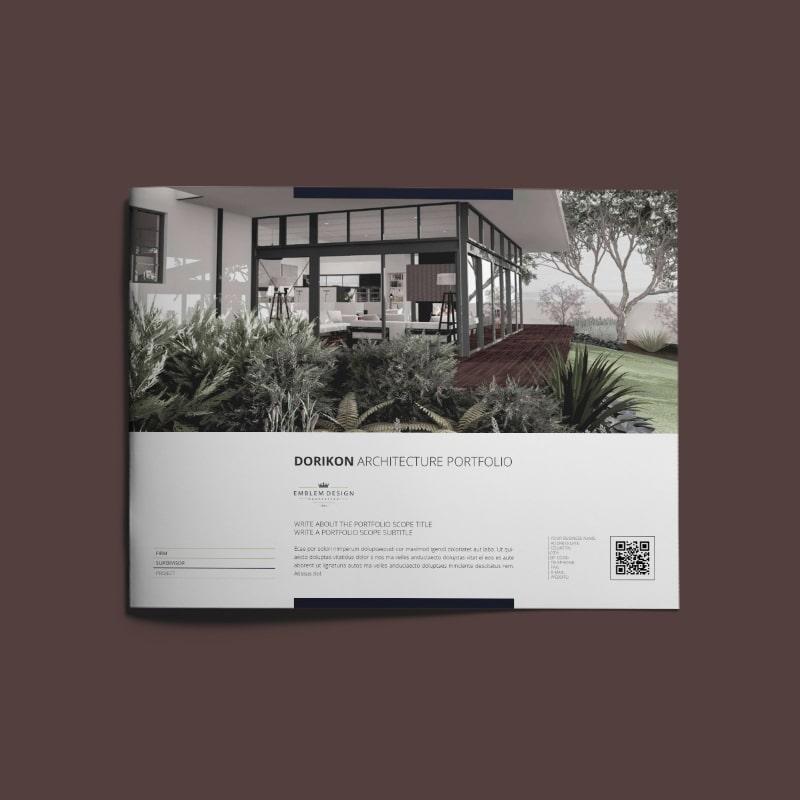 Dorikon Architecture Portfolio US Letter Landscape