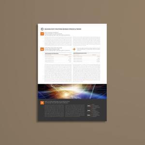 Dunami Executive Summary A4 Template