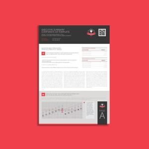 Executive Summary Corporate A4 Template