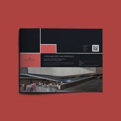 Hyper Architecture Portfolio US Letter Landscape