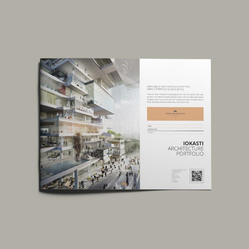 Iokasti Architecture Portfolio US Letter Landscape