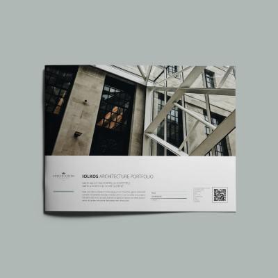 Iolkos Architecture Portfolio US Letter Landscape