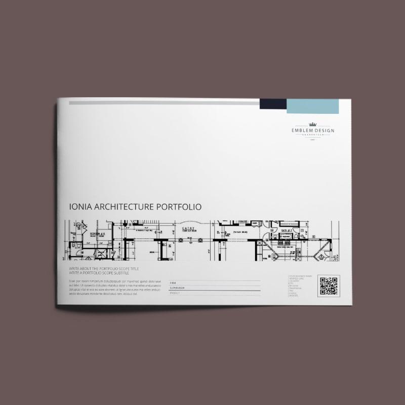 Ionia Architecture Portfolio A4 Landscape
