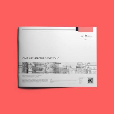 Ionia Architecture Portfolio US Letter Landscape