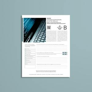 Kanon Customer Questionnaire US Letter Template