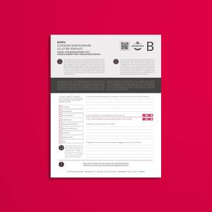 Kappa Customer Questionnaire US Letter Template