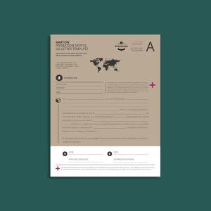 Karton Probation Notice US Letter Template