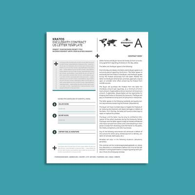 Kratos Exclusivity Contract US Letter Template