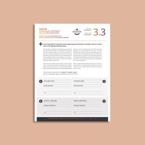 Kratos Land Sale Contract US Letter Template