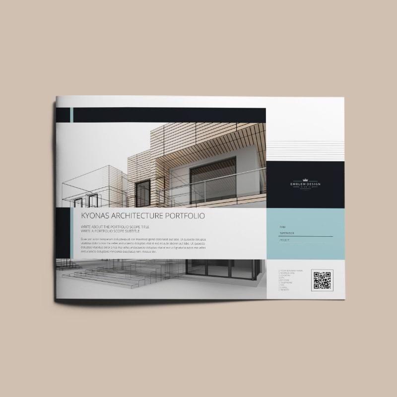 Kyonas Architecture Portfolio A4 Landscape