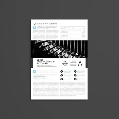 Lomet Executive Summary A4 Template