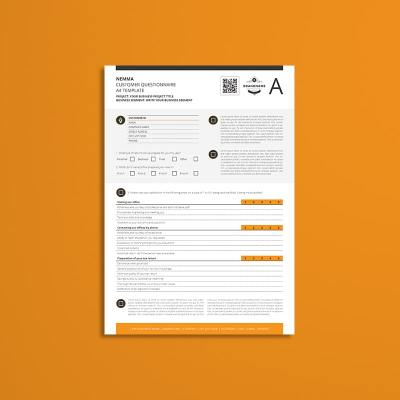 Nemma Customer Questionnaire A4 Template
