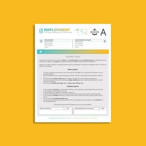 Octo Employment Agency Agreement US Letter Template