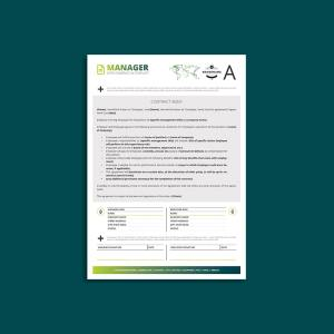 Octo Manager Contract A4 Template