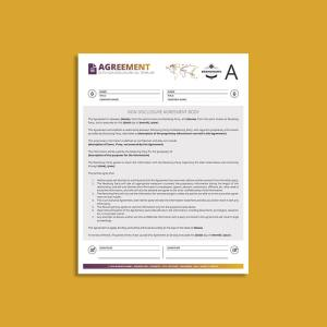 Octo Non-Disclosure Agreement US Letter Template