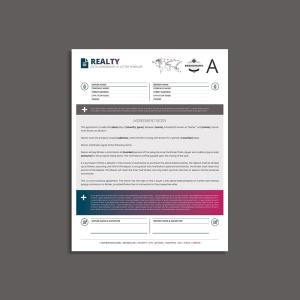 Octo Realty Agreement US Letter Template