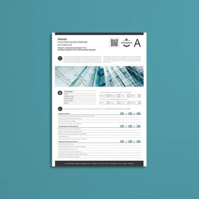 Praksis Customer Questionnaire A4 Template