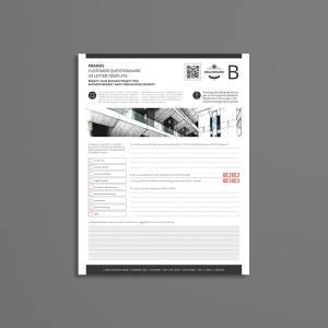 Praksis Customer Questionnaire US Letter Template