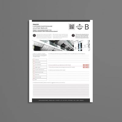 Praksis Customer Questionnaire US Letter Template