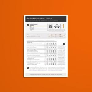 Sima Customer Questionnaire A4 Template