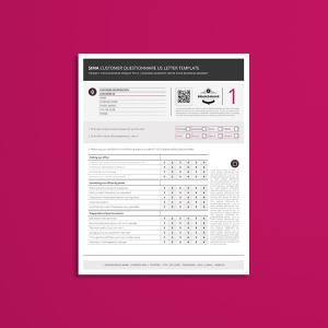 Sima Customer Questionnaire US Letter Template