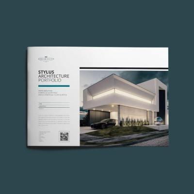 Stylus Architecture Portfolio A4 Landscape