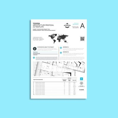 Tessera Architecture Proposal A4 Template